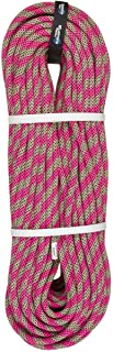 product image for BlueWater Ropes 9.7mm Lightning Pro Double Dry Dynamic Single Rope (Pink/Green, 70M)