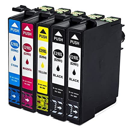 5x Reemplazo para Epson 29 29XL Cartuchos de Tinta Compatible con ...