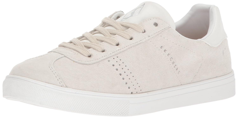 Skechers Street Women's Women's Moda-Suede T Toe Sneaker B0742ST1YW 5 B(M) US|Off White