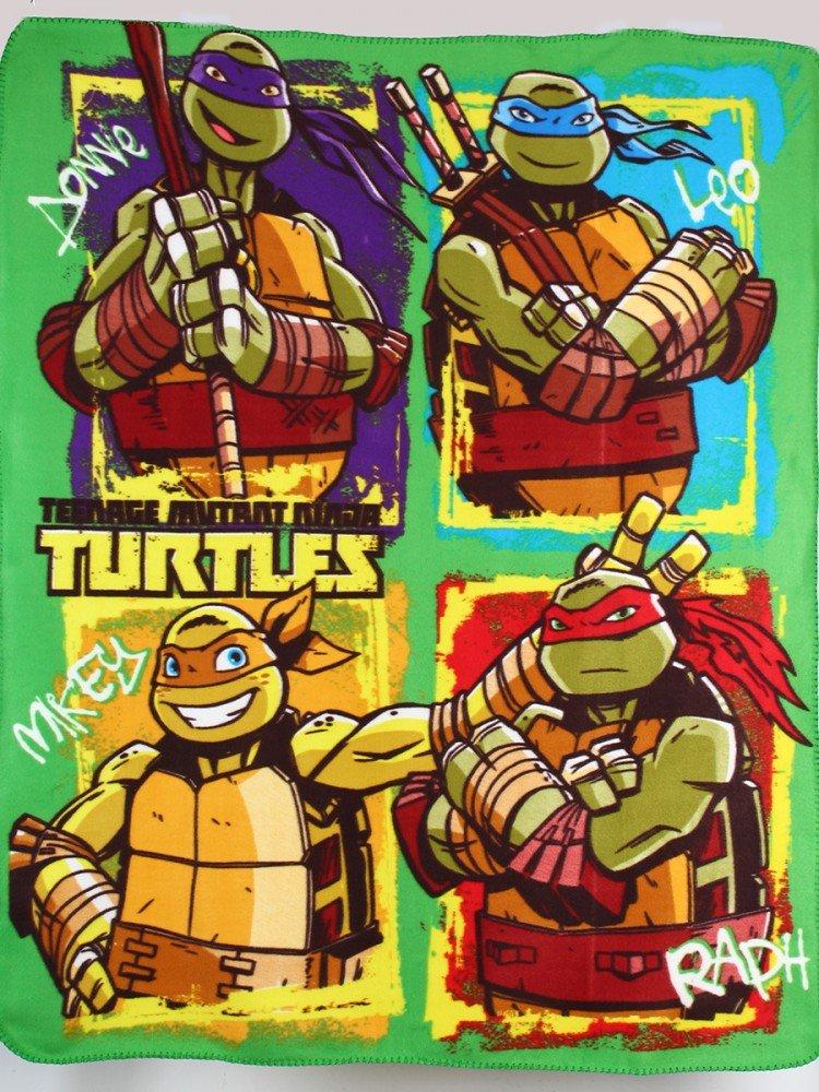 Manta polar Tortugas Ninja: Amazon.es: Juguetes y juegos