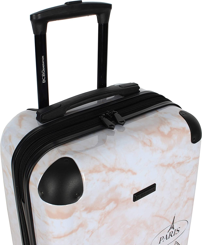 Urban BCBG Urban Bohemia 24 Inch Expandable Hardside Checked Spinner Luggage