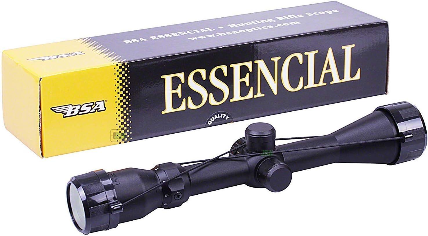 BSA 3-9x40 Ir Esencial Telescópico Iluminado Mil Dot Pistola de Aire Rifle Scope