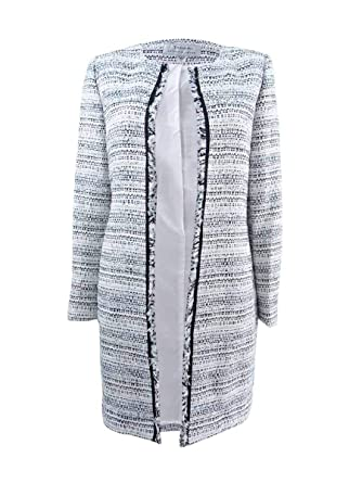 796d1fe6ed92f Image Unavailable. Image not available for. Color  Tahari by ASL Womens  Plus Boucle Topper Jacket