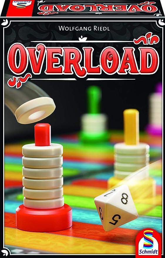 Schmidt Spiele 49350 Overload - Juego de Mesa (apilado), Multicolor: Amazon.es: Juguetes y juegos