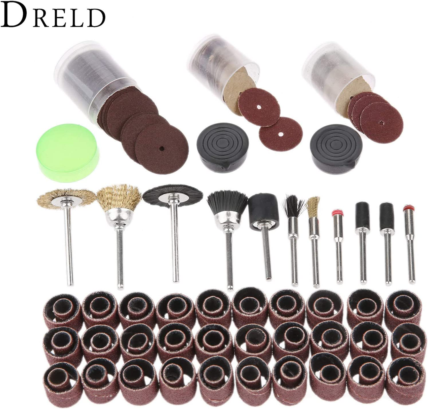 150Pc Accessorie Electric Drill Engraving Grinding Polishing Pad Cutting Sanding Cleaning for Rotary Tool Fit Power