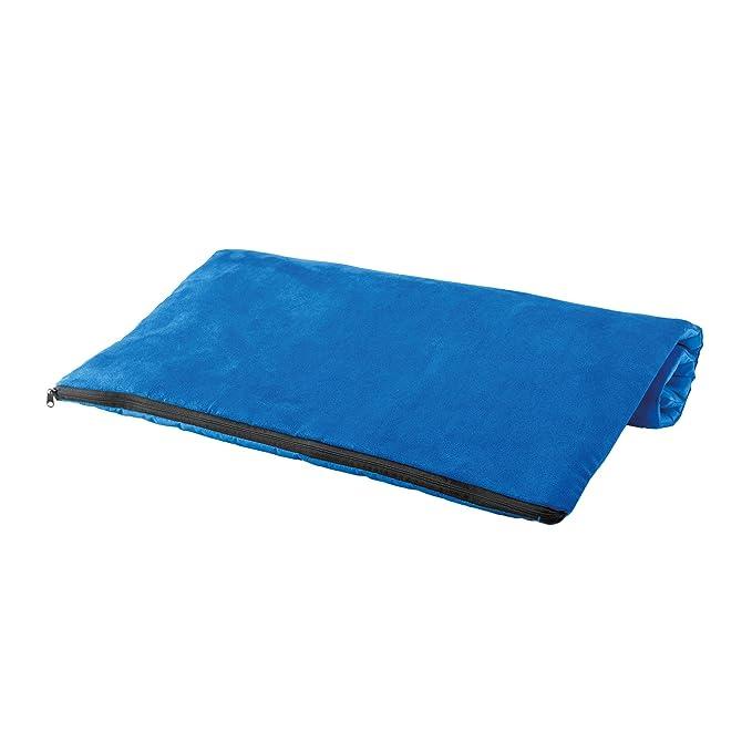 KiMood - Cama acolchada para perros (Talla Única/Azul eléctrico)
