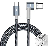 Looyat Magnetic Type C Cable for Macbook Pro for Ipad Pro (Gray)