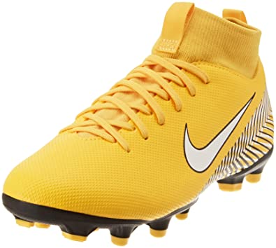 official photos fe0a3 8f68e Nike Superfly VI Academy Neymar, Chaussures de Football garçon, Multicolore  (Amarillo White