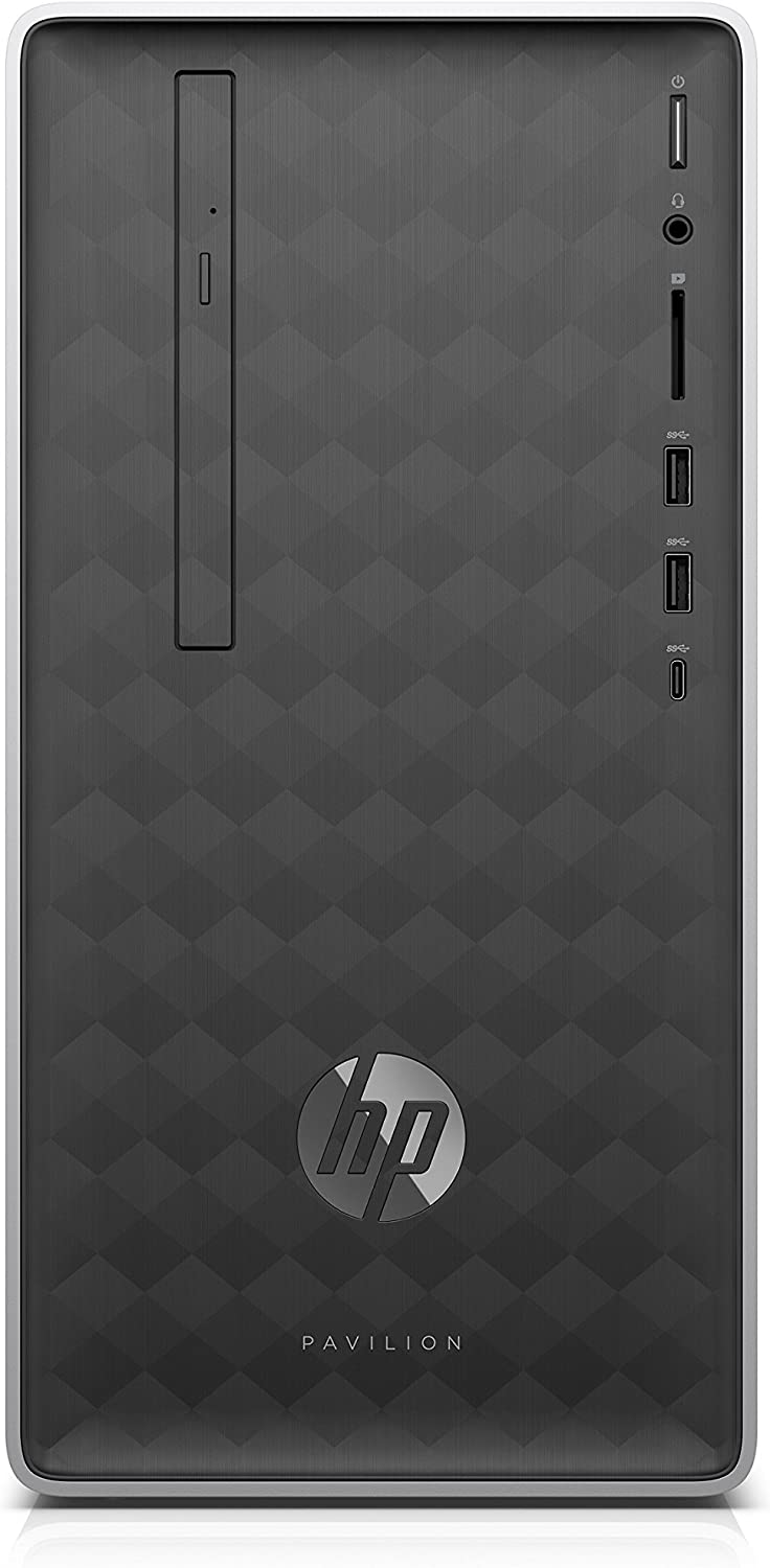 HP Pavilion 590-p0566ng 3,6 GHz AMD Ryzen 5 2400G Negro Mini Tower PC - Ordenador de sobremesa (3,6 GHz, AMD Ryzen 5, 8 GB, 1256 GB, DVD±RW, Windows 10 Home)