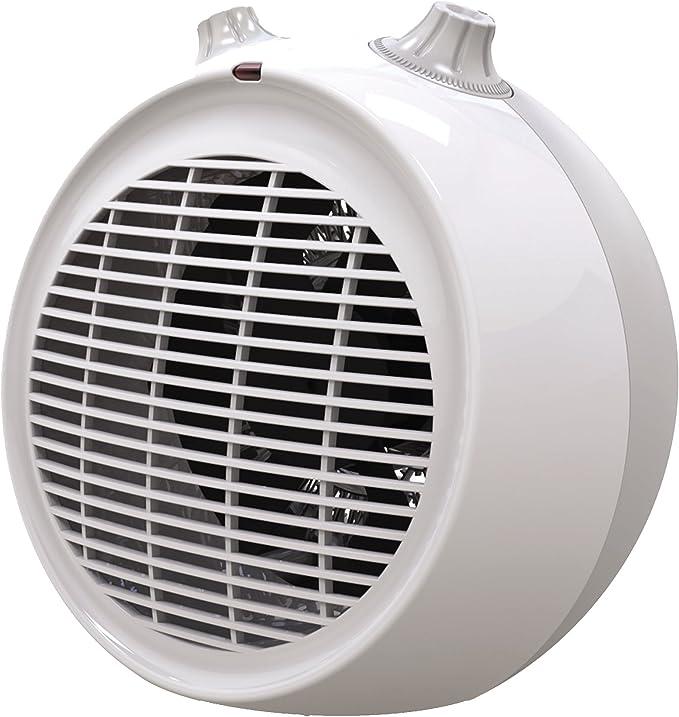 EWT POM 2 Calentador de ventilador Interior Blanco 2000 W ...