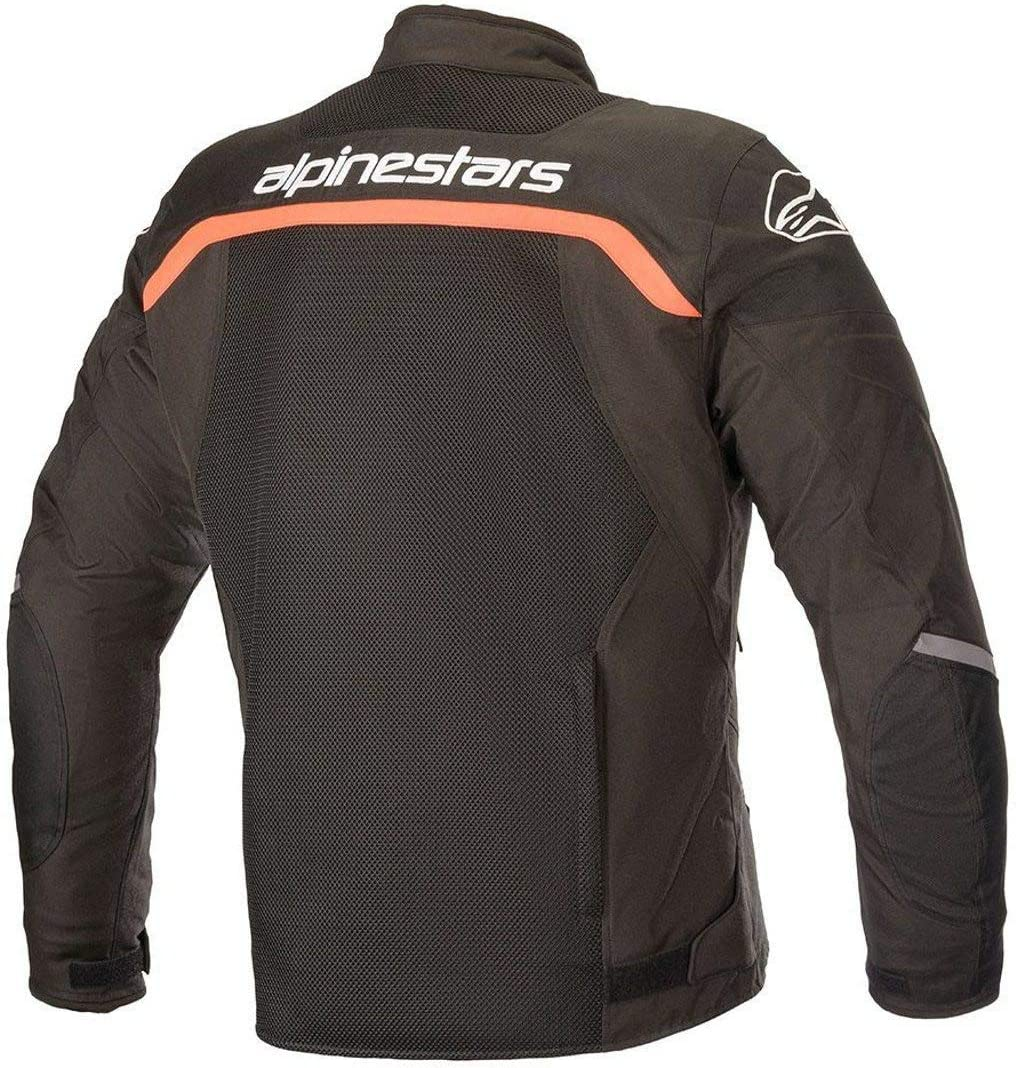 Medium Black//White//Red Alpinestars Viper V2 Air Motorcycle Jacket