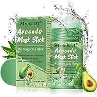 Avocado Mask Stick, Purifying Clay Stick Mask, Deep Cleansing Mask, reinigingsmasker, gezicht, oliecontrole, anti-acne…