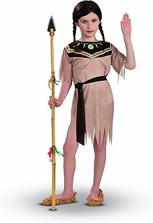 RubieS I-883790L - Disfraz de india para niña (8 años) (talla L ...