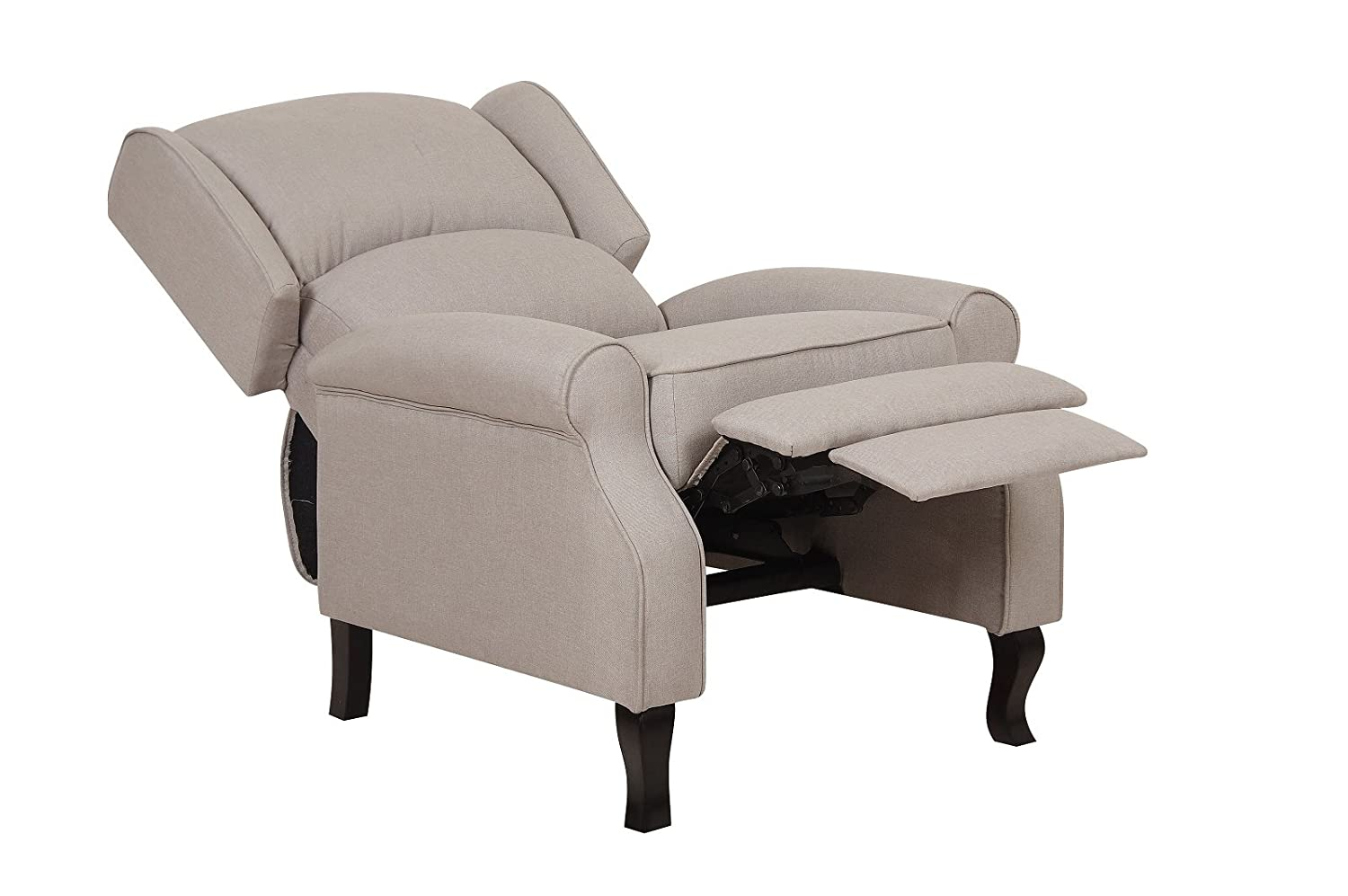 Charmant Amazon.com: US Pride Furniture Contemporary Linen Fabric Accent Recliner  Chair, Beige: Kitchen U0026 Dining