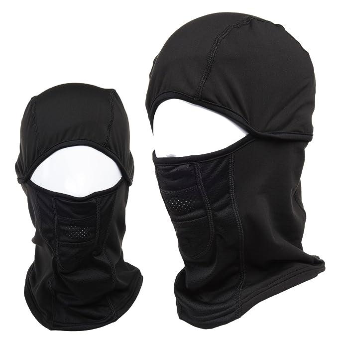 5in1 Multi Ski Face Mask Neck Warmer Hood Winter Headwear Thermal Outdoor Sports