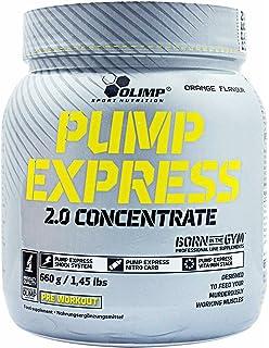 Olimp Sport Nutrition Pump Express 2.0 Concentrate Pre-Entrenamiento, Sabor Naranja - 660 gr