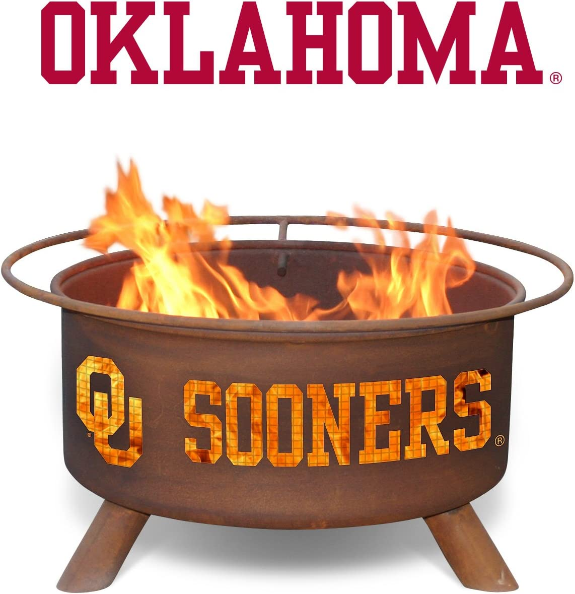Patina Products F218, 30 Inch University of Oklahoma Fire Pit Discontinued by the manufacturer