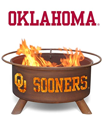 Patina Products F218, 30 Inch University of Oklahoma Fire Pit (Discontinued  by the manufacturer - Amazon.com : Patina Products F218, 30 Inch University Of Oklahoma