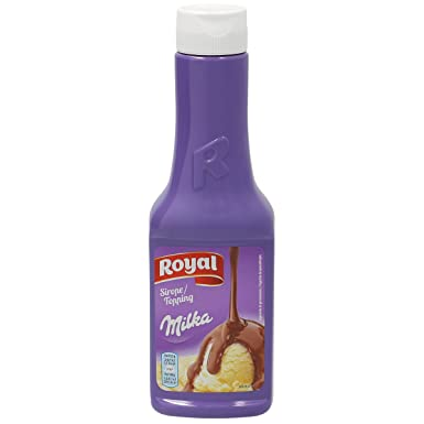 MILKA Royal sirope de chocolate milka botella 300 gr