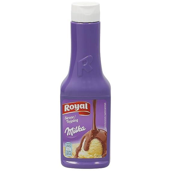 MILKA Royal sirope de chocolate milka botella 300 gr