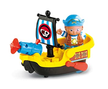 Vtech Toot-Toot Friends Kingdom Pirate Ship Ages 1-5 **BRAND NEW**
