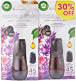 Air Wick Air Freshener Essential Oil Diffuser Refill, Lavender & Almond Blossom Twin Pack