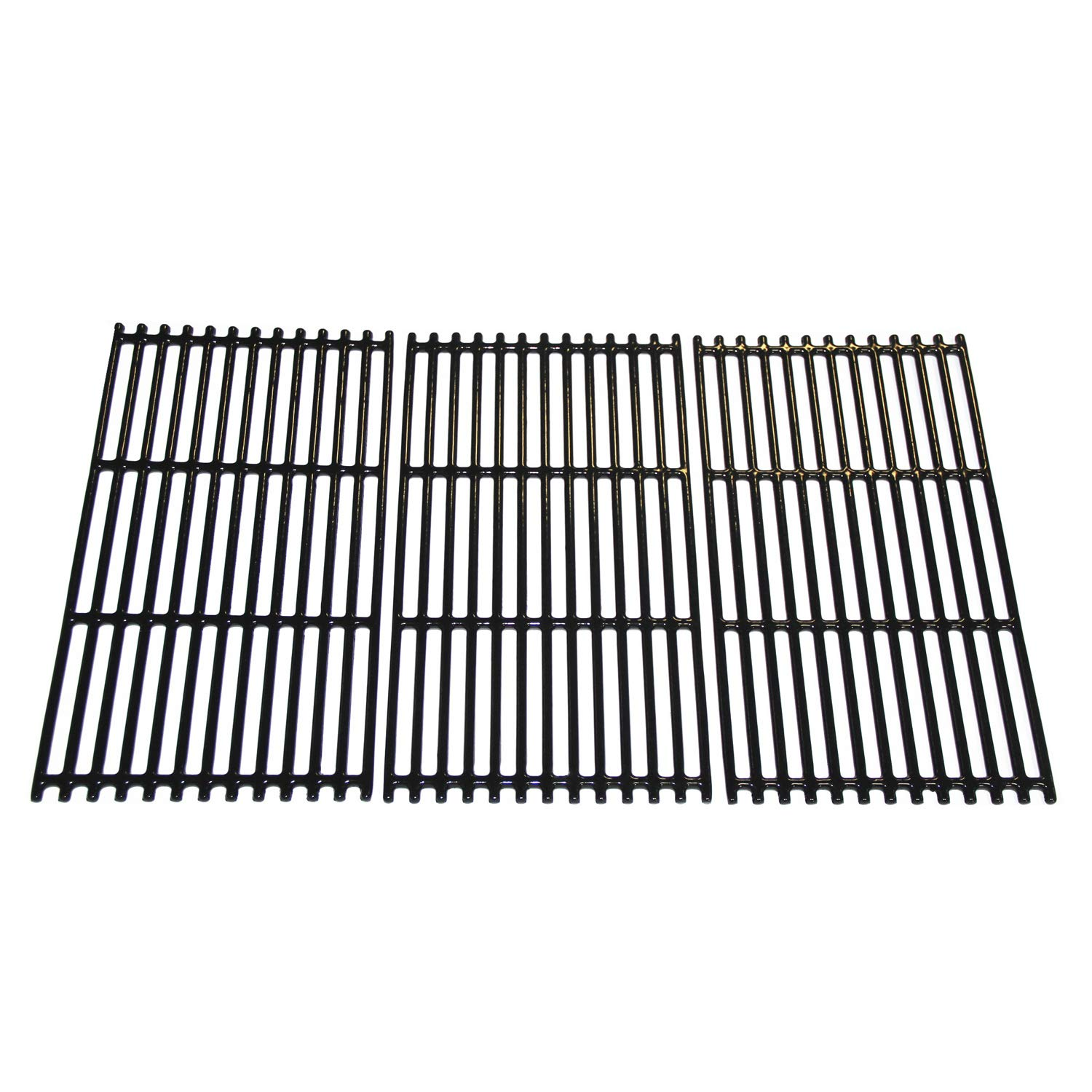 Hongso 17 1/16'' Porcelain Coated Cast Iron Grill Grates Replacement for Charbroil 463242716, 466242715, 463242715, 466242815 Grill, G533-0009-W1, Lowe's #606682, Walmart # 555179228 (PCB004) 3 Pack by Hongso