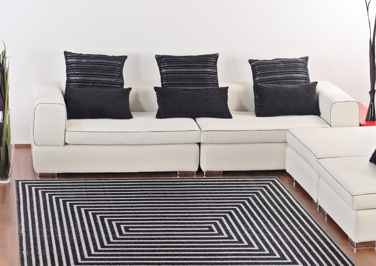 Persian-Rugs 9050 Dark Gray 8 x 10 Area Rug Carpet Large New