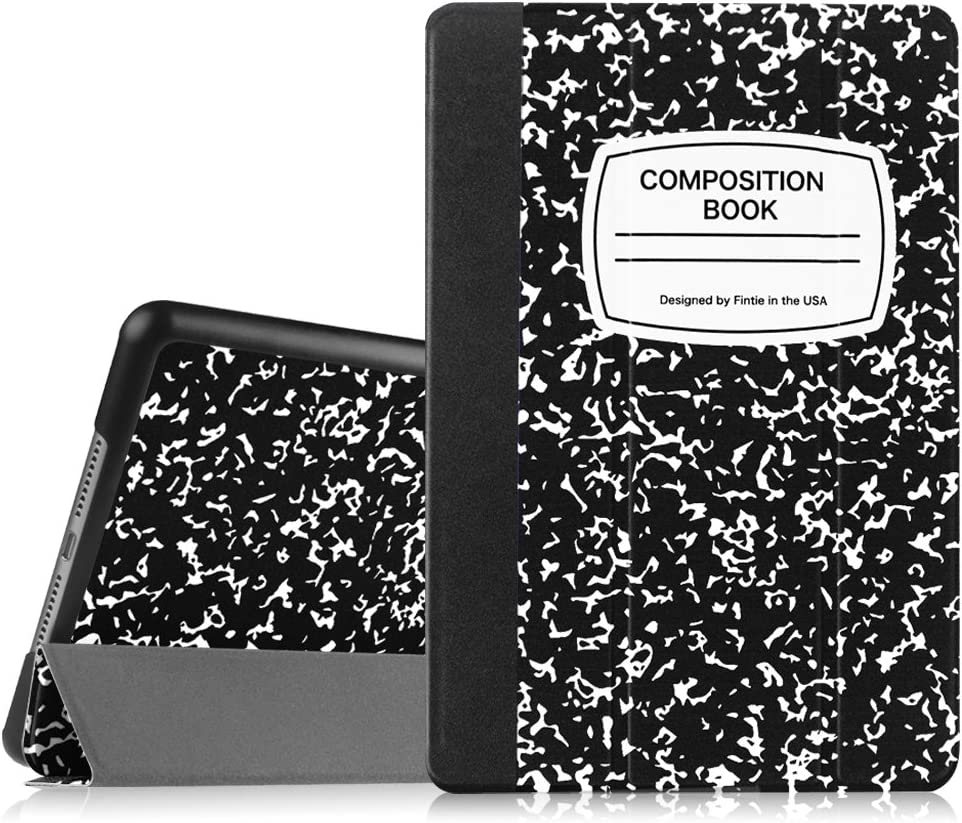 Fintie iPad Mini 4 Case - Slimshell Lightweight Smart Stand Protective Cover with Auto Sleep/Wake Feature for Apple iPad Mini 4 (2015 Release), Composition Book Black