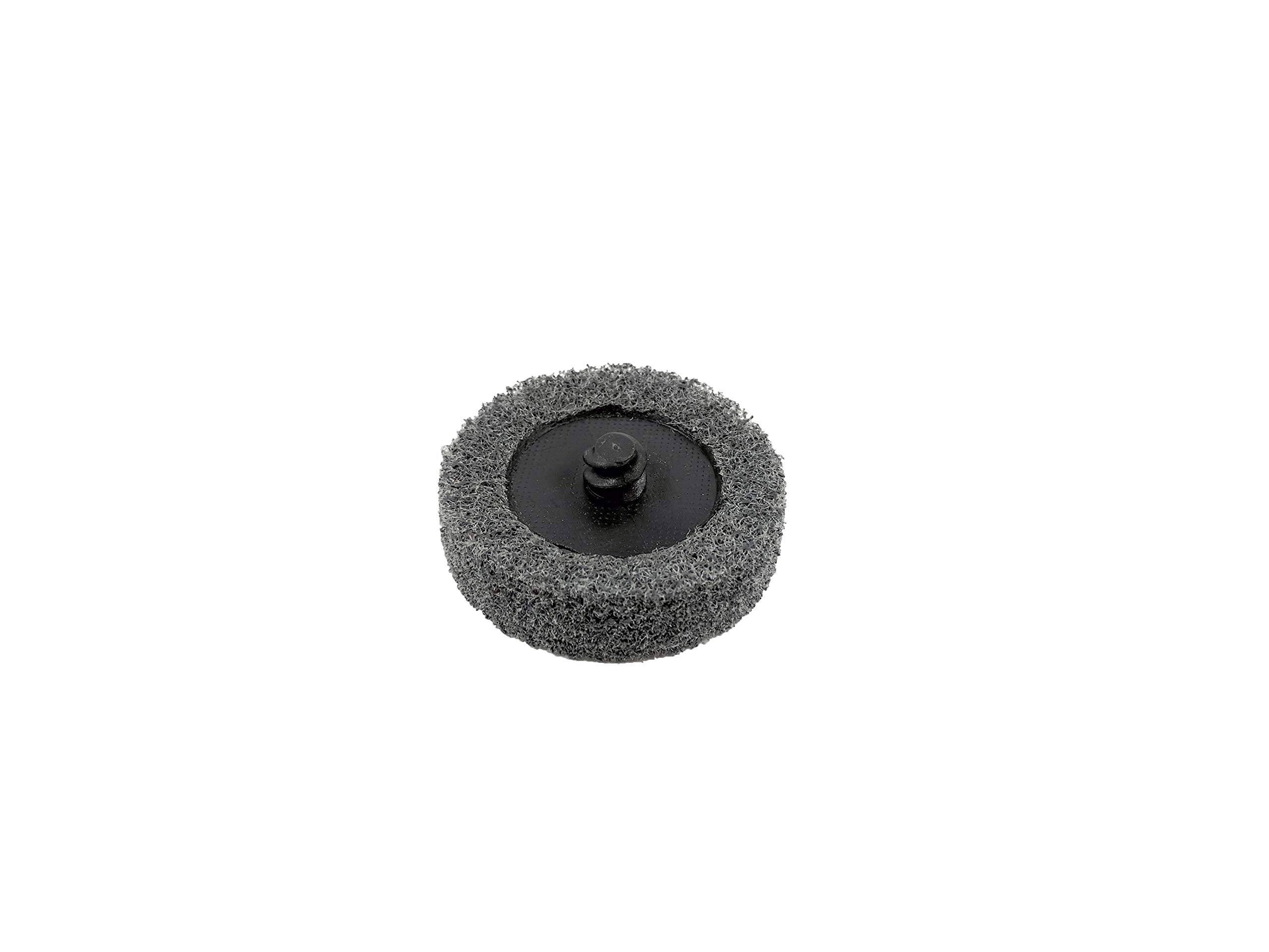 Sungold Abrasives 74919 Type R Quick Change Gray S/C SuperFine Unitized Wheel Surface Prep Disc (20 Pack), 2''
