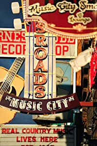 Music City Nashville Country Music Retro Signs Photo Photograph Cool Wall Decor Art Print Poster 12x18