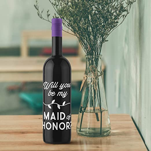 Family Wine Bottle Decal