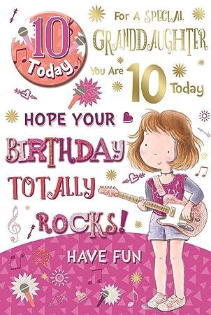 Geburtstagskarte zum 10 geburtstag