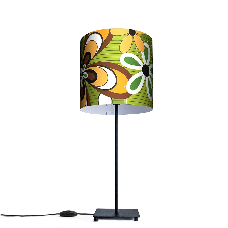 Unusual Design Table Lamp With Motive: Hippie Flower: Amazon