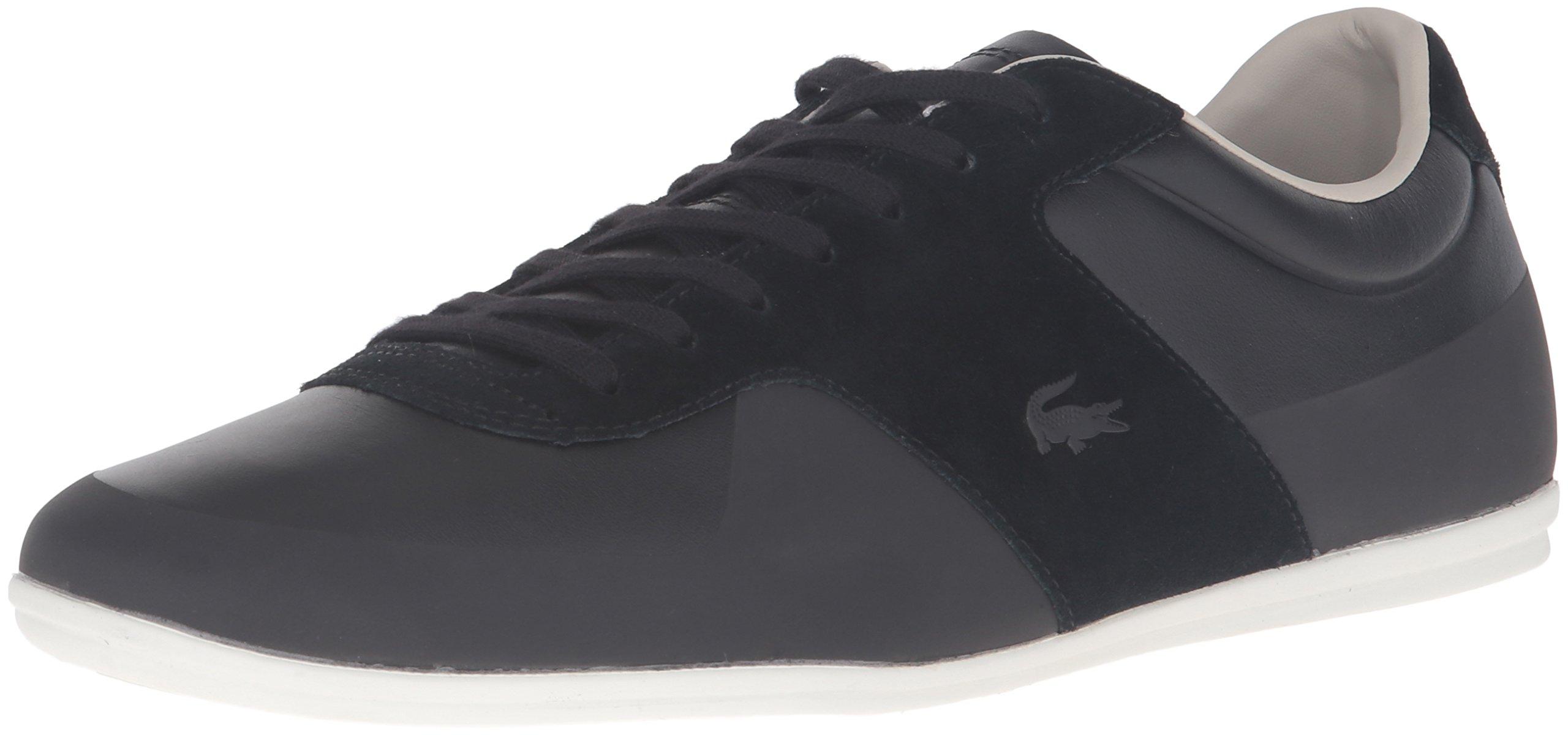 Lacoste Men's Turnier 316 1 Cam Fashion Sneaker, Black, 9.5 M US