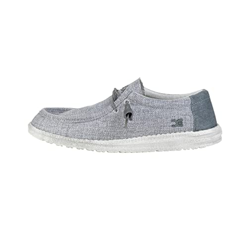 Dude Shoes Gris de Wally Tejida de Los Hombres UK11/EU45 8v64E