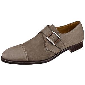 Gravati Men's Shoes Suede Monk Strap 10 M Taupe