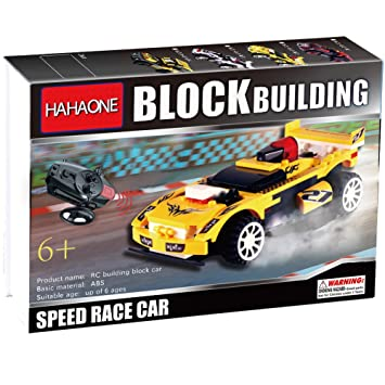 hahaone buildable rc cars building blocks race remote control toys electric rccars rc car for kids