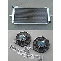 Radiador de aluminio + ventiladores para ESCORT/SIERRA RS500/RS