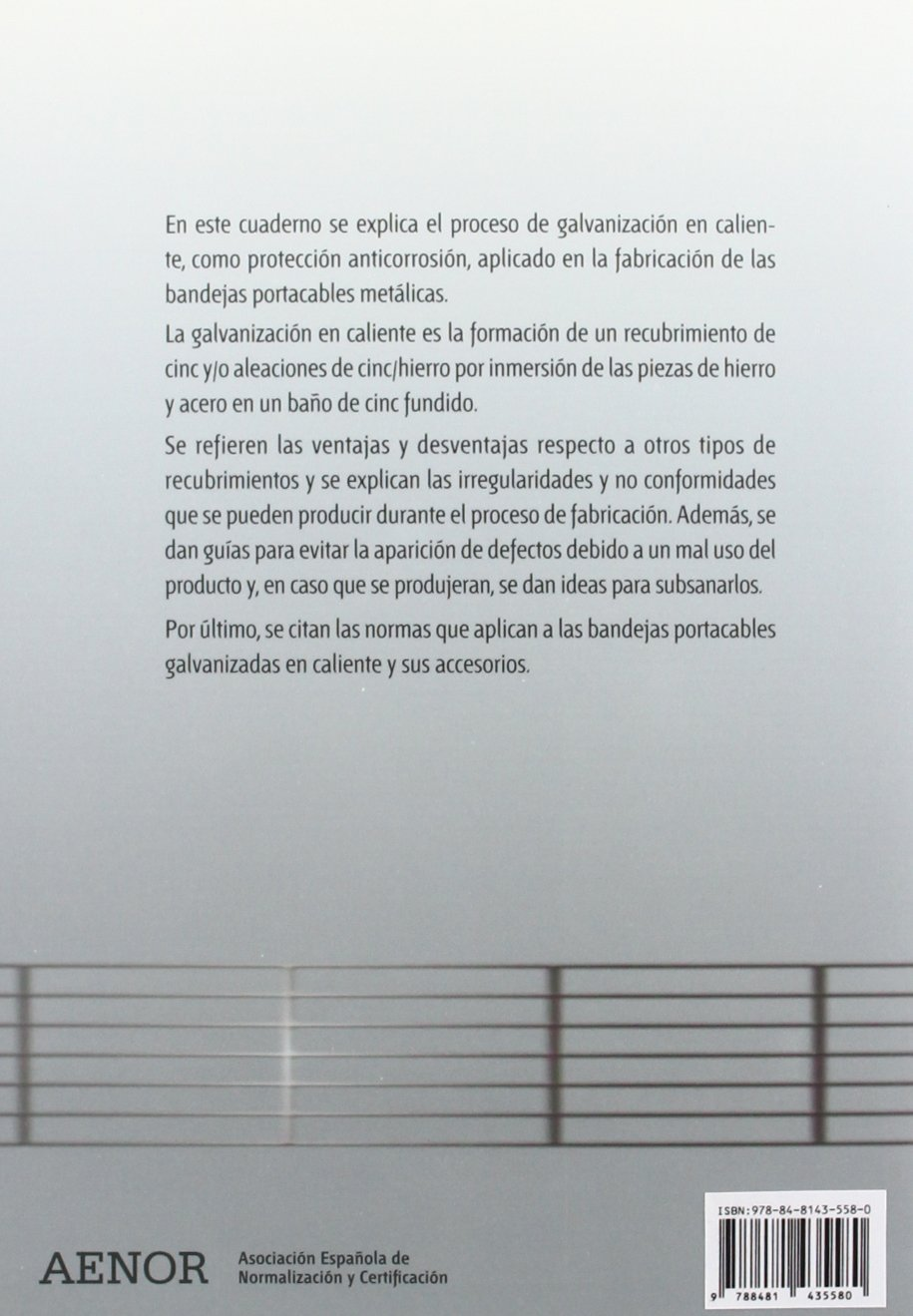 Bandejas portacables metálicas galvanizadas en caliente: Amazon.es: AFME (Asociación de fabricantes de material eléctrico): Libros