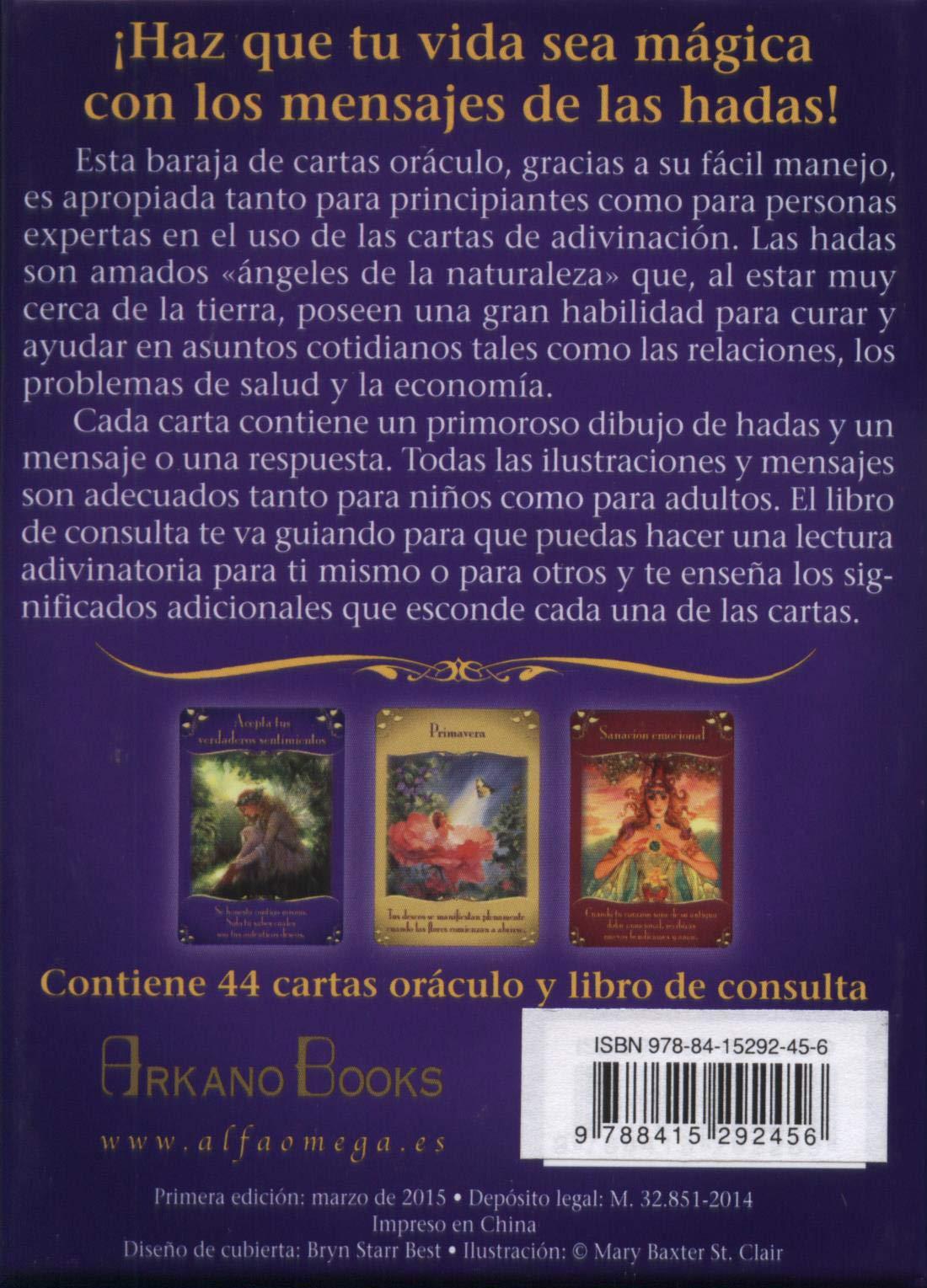 Mensajes mágicos de las hadas : cartas oráculo: Doreen ...
