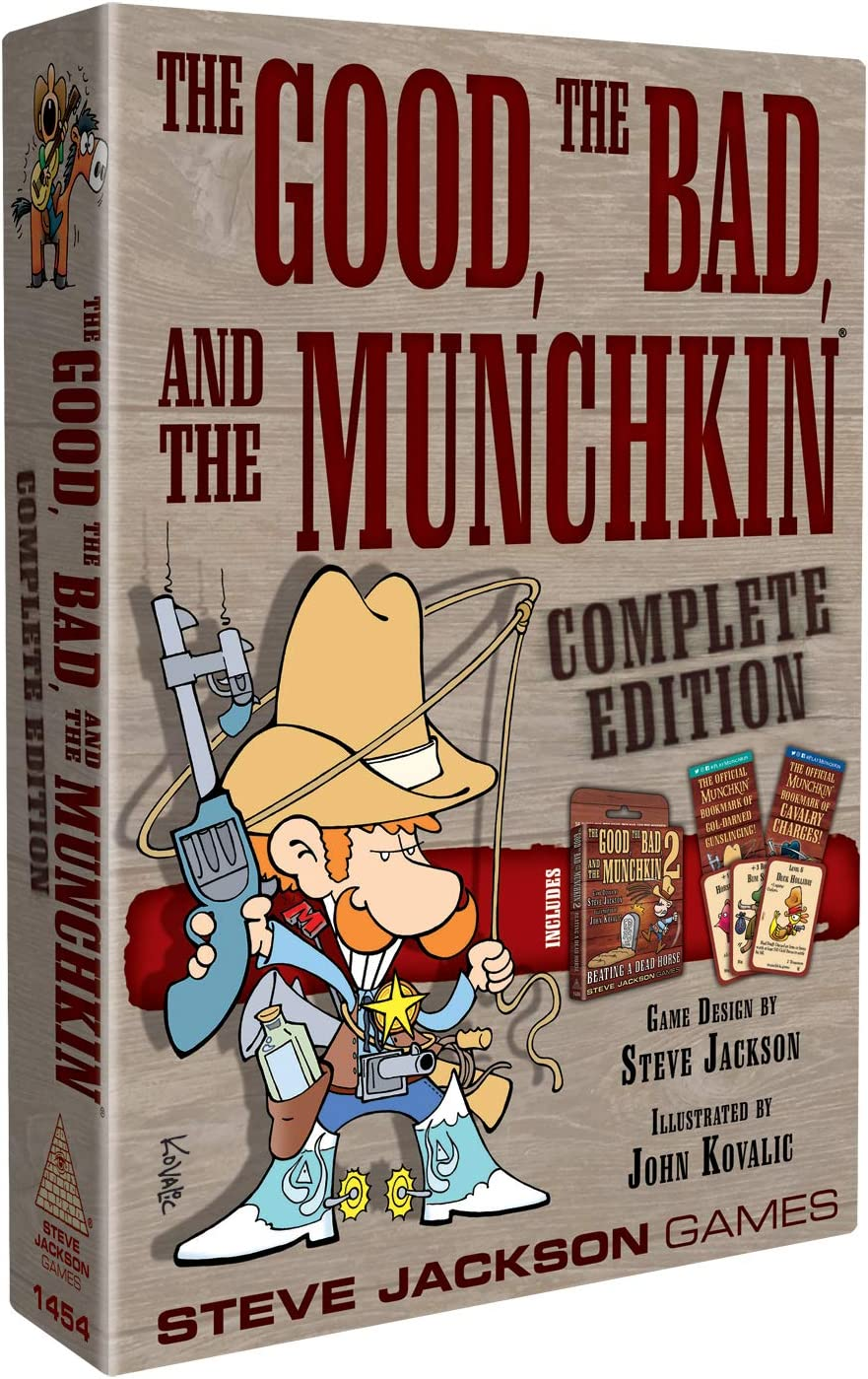 Steve Jackson Games Munchkin The Good The Bad The Munchkin Complete Edition - English: Amazon.es: Juguetes y juegos