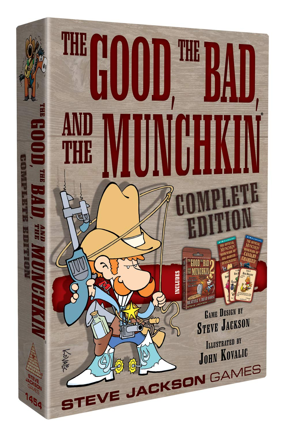 Steve Jackson Games Munchkin The Good The Bad The Munchkin ...