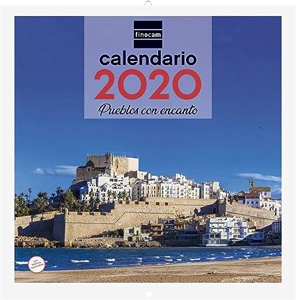 Finocam - Calendario de pared 2020 Imágenes 30x30 Pueblos con ...