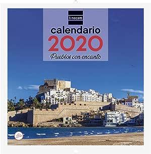Finocam - Calendario de pared 2020 Imágenes 30x30 Pueblos con Encanto español: Amazon.es: Oficina y papelería
