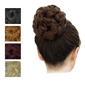 Prettywit Hairpieces Short Curly Hair Extension Accessories For