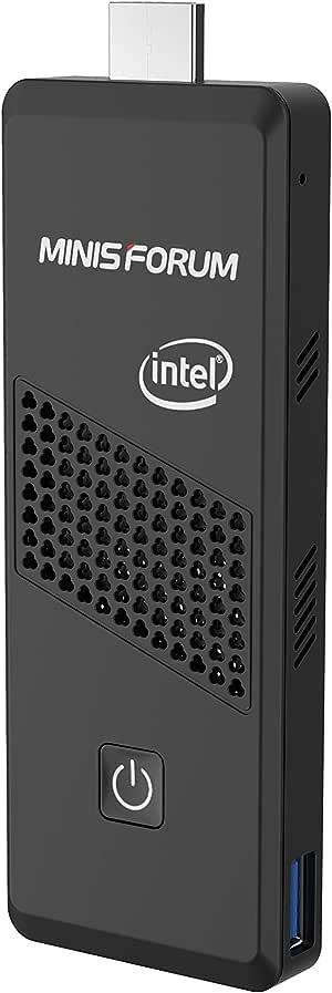 Mini-PC, procesador Intel Celeron S40 N4000 4GB DDR4 / 64GB eMMC 4K @ 60HZ PC Stick con Windows 10 Pro, conexión HDMI y Mini DP, USB 3.0, Bluetooth 5.0, Encendido automático: Amazon.es: Informática