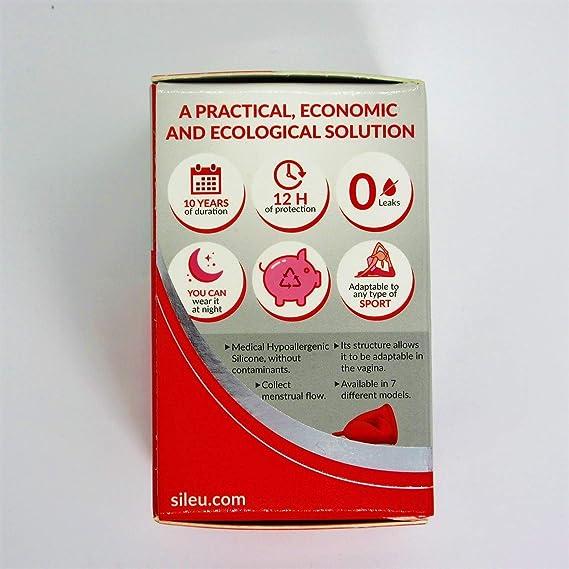 Lady Descarga Menstrual Copa De Gel De Silicona Reutilizable Menstrual Copa De Fugas De Seguridad Libre De La Copa ER-NMBGH Suave Silicona Reutilizable Salud Per/íodo Menstrual Copa Copa Menstrual