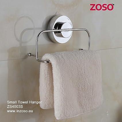 Pequeño Percha de toallas - ZOSO - Productos de ventosa super potentes - ZS4003S(ES