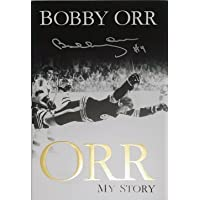 "$95 » Bobby Orr""My Story"" Book - Autographed - Boston Bruins"